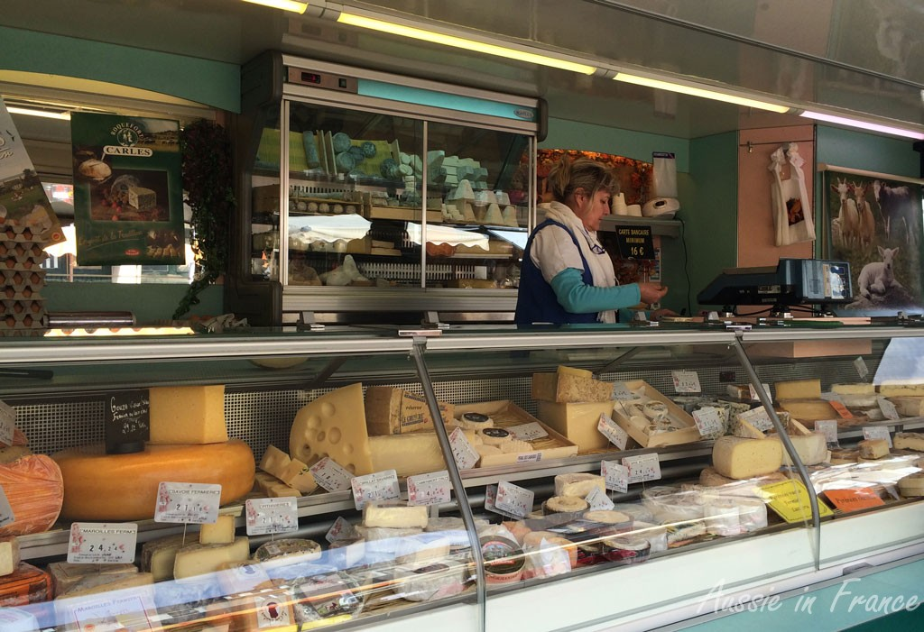 Our cheese monger
