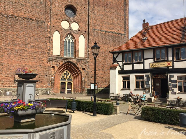 Church and restaurant