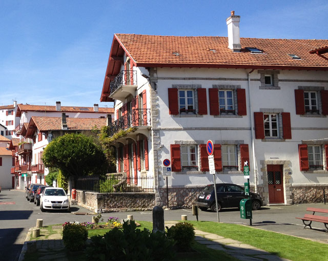 Traditional architecture in Ciboure