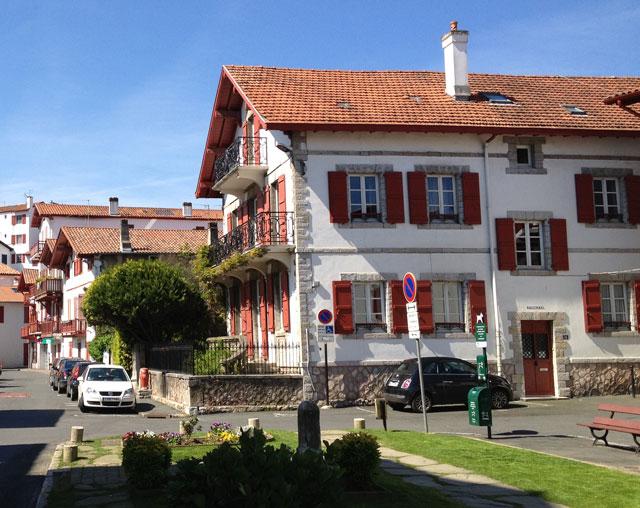 Traditional architecture in Ciboure