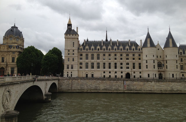 The conciergerie which has now been completely renovated.