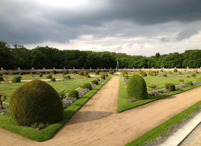 Diane de Poitier's garden