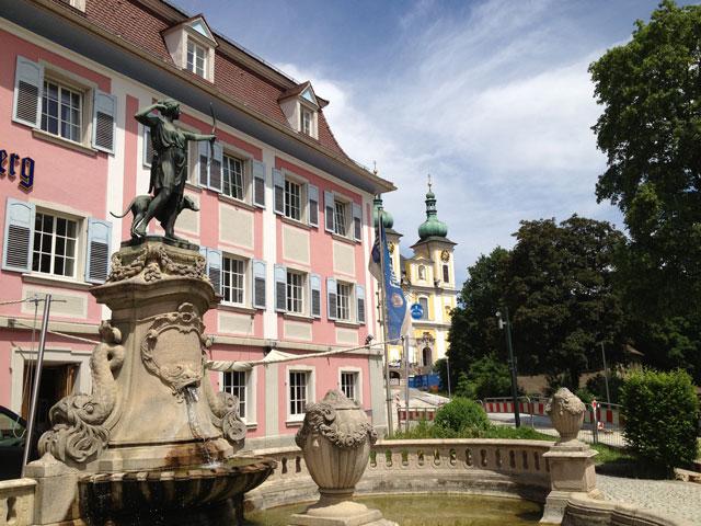 Donau-Eschingen, where the Danube begins