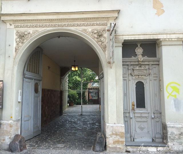 Renaissance doorway