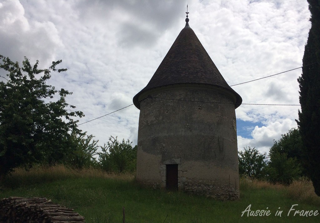 The dovecote near Huisseau