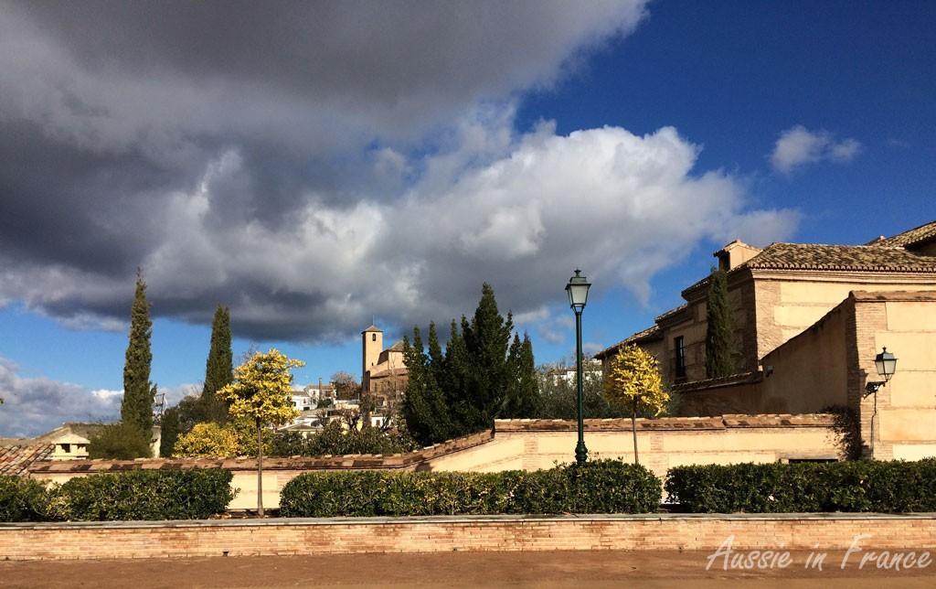 Dramatic skies in Albaicin