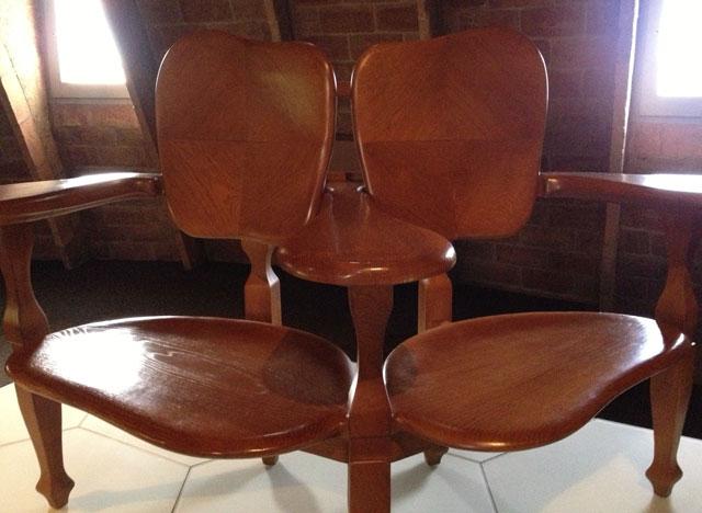 Duo seat by Gaudi
