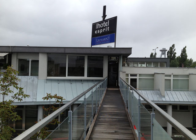 Entrance to Esprit Hotel