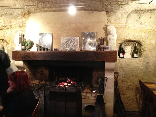 Fireplace in Les Gueules Noires