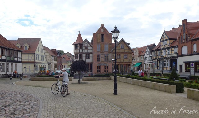 First view of Tangermünde