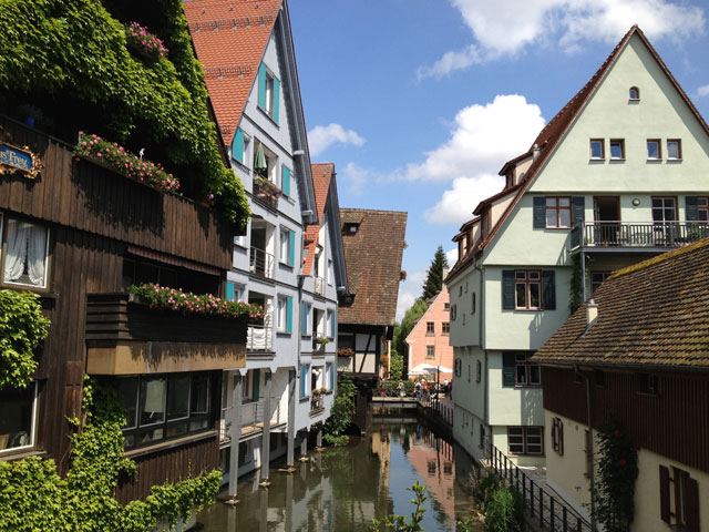 Fishermens' quarter in Ulm