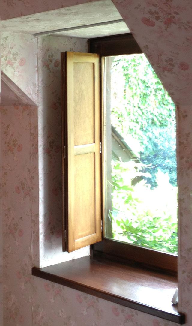 Our folding inside shutters