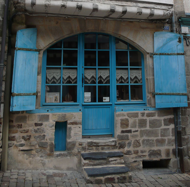 Typical street window
