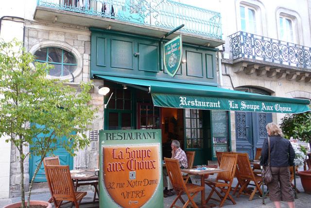 La Soupe aux Choux where we had a very pleasant meal