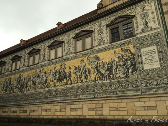 Frieze on the schloss