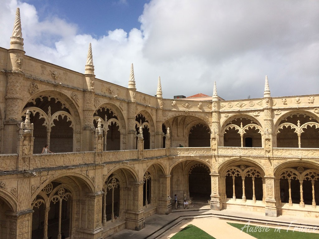 Cloisters at Jeronimos Monastery