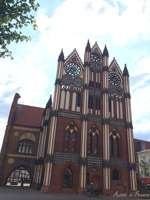 The Rathaus with its complex gothic architecture