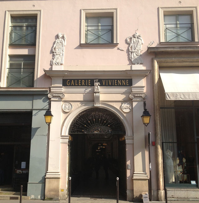 Galerie Vivienne from Rue Vivienne