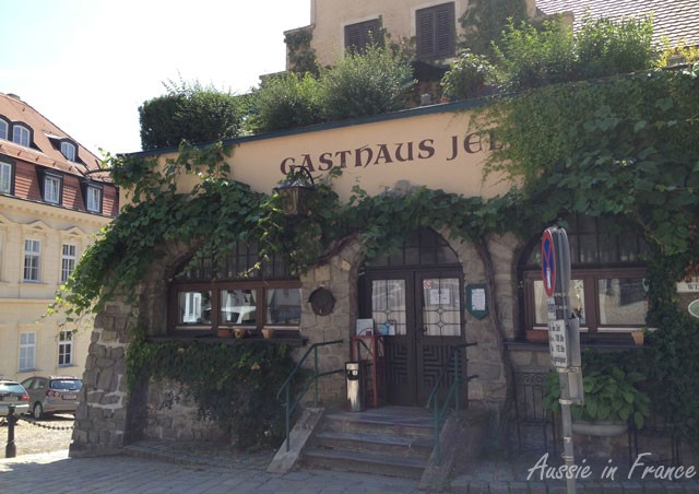 An old gasthaus in Krems