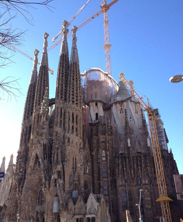 Gaudi's Sagrada Familia Cathedral
