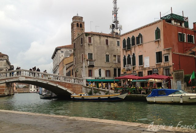 Bridge in the old ghetto quarter