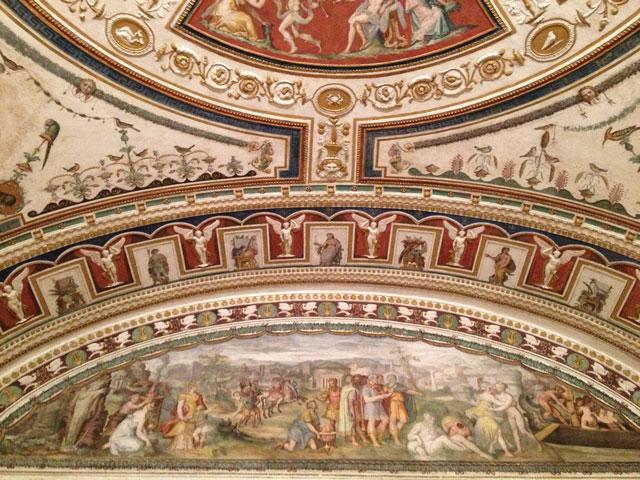 Frescoes at Palazzo Grimani
