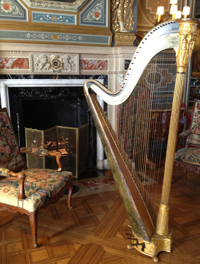 Late 18th century Erard harp in perfect working order