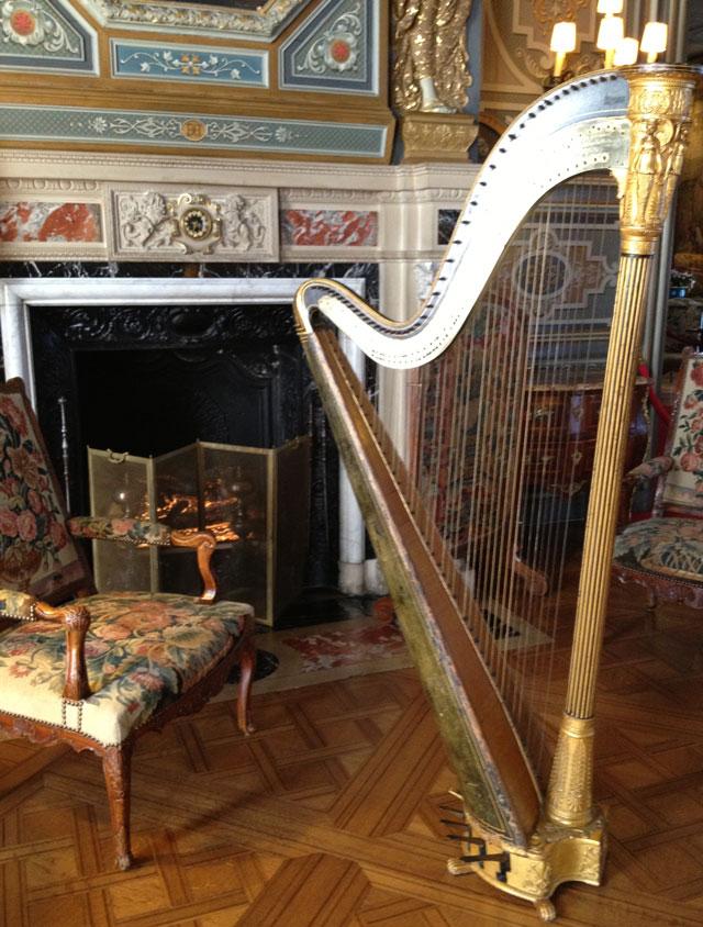 Late 18th century Erard harp in perfect working order