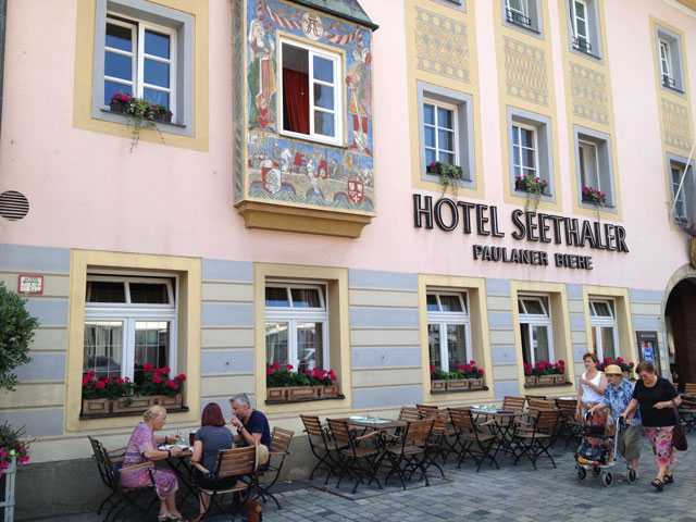 The hotel in Straubing we may have stayed in 15 years ago
