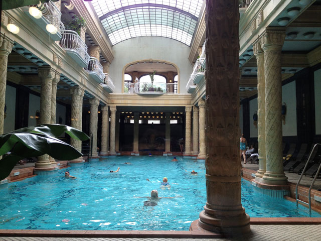 Main indoor pool