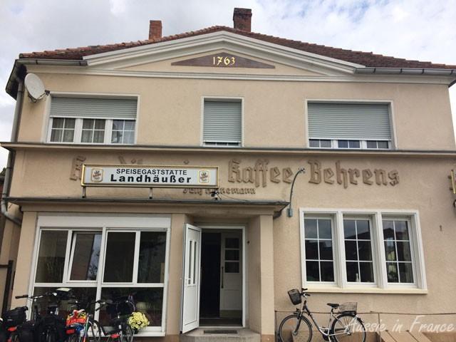 Kaffee Behrens in Jerichow