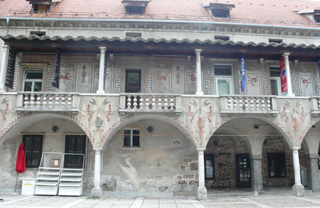 Krizanke Theatre which houses the Summer Festival