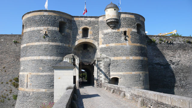 Angers Castle Keep or donjon