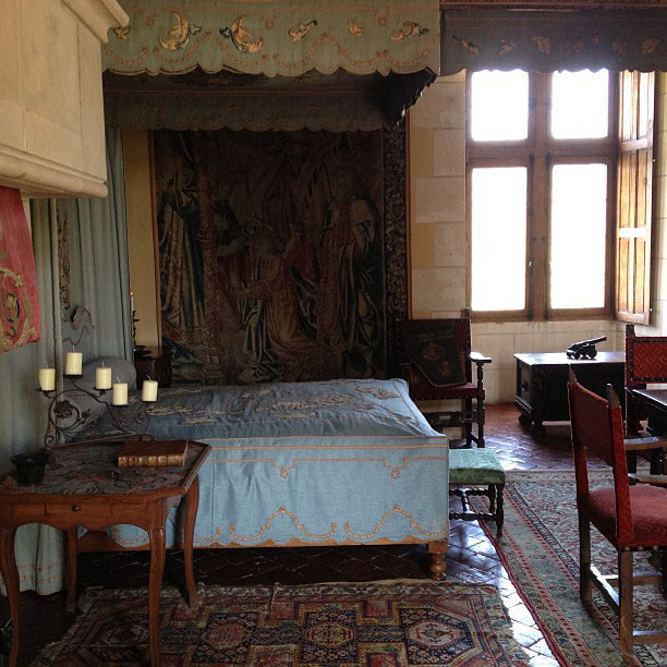 The king's bedchamber