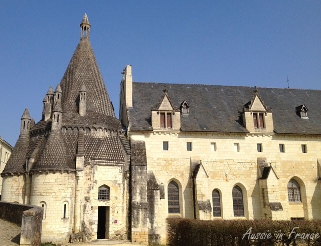 The famous kitchen at Fontevraud l'Abbaye