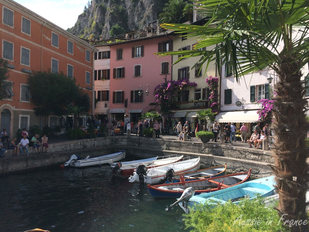 The little port in Limone