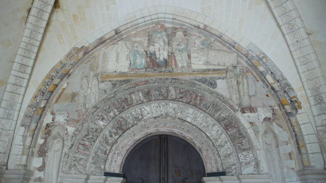 Tympanum of Saint Ours