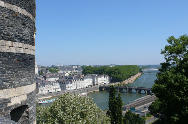 View of the Loire from the castle ramparts
