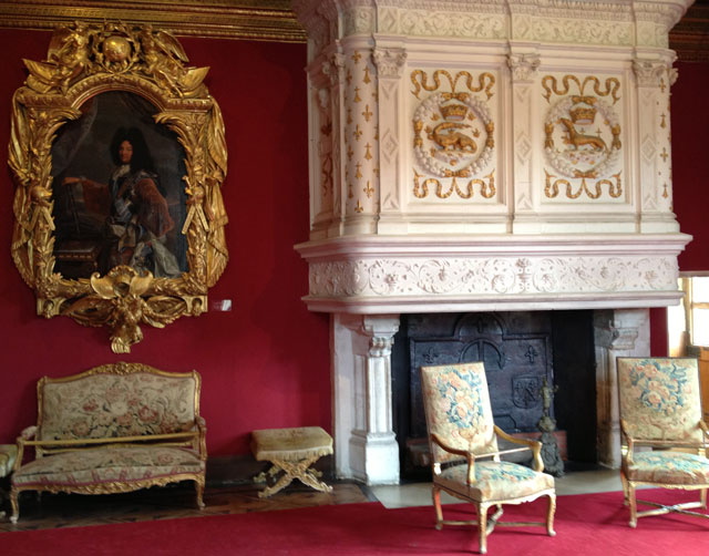 Louis XIV's drawing room