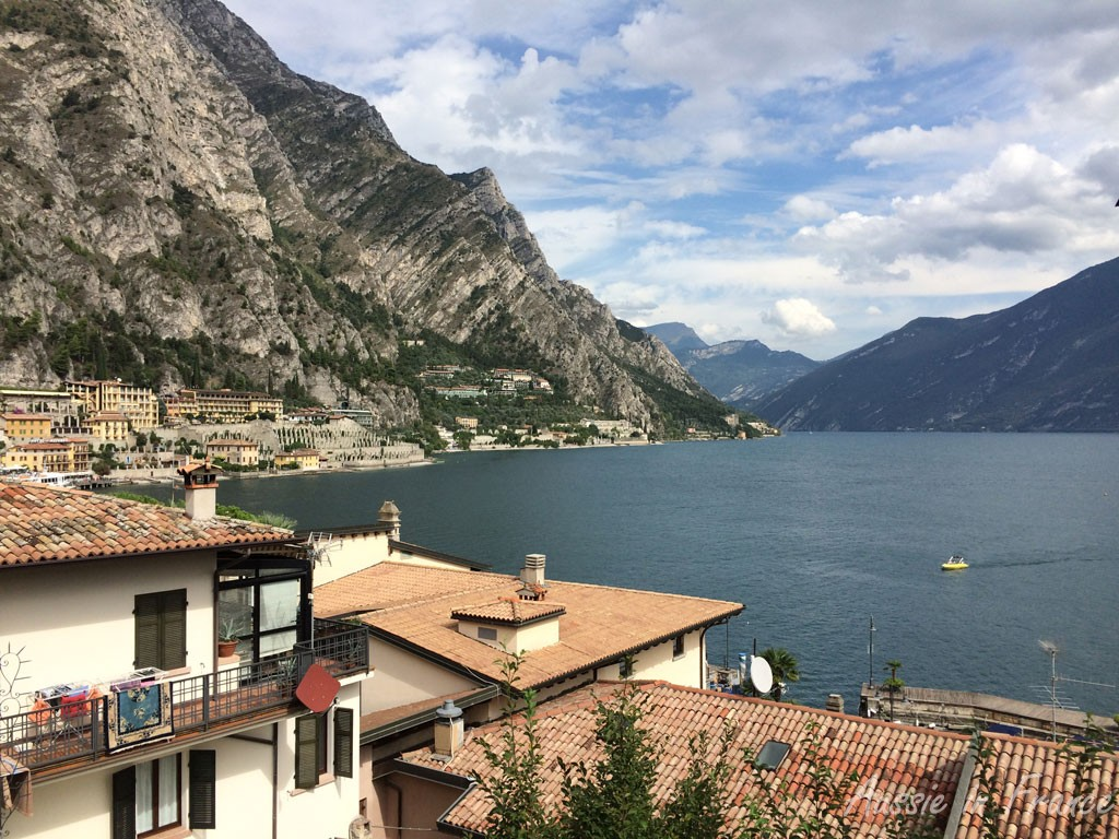 The view from Alla Noce in Limone
