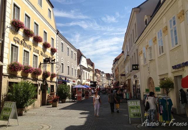Main street of Krems