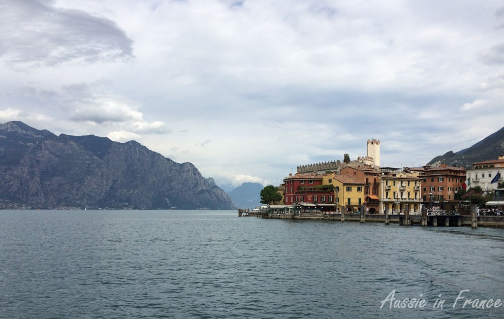 Malcesine from the ferry