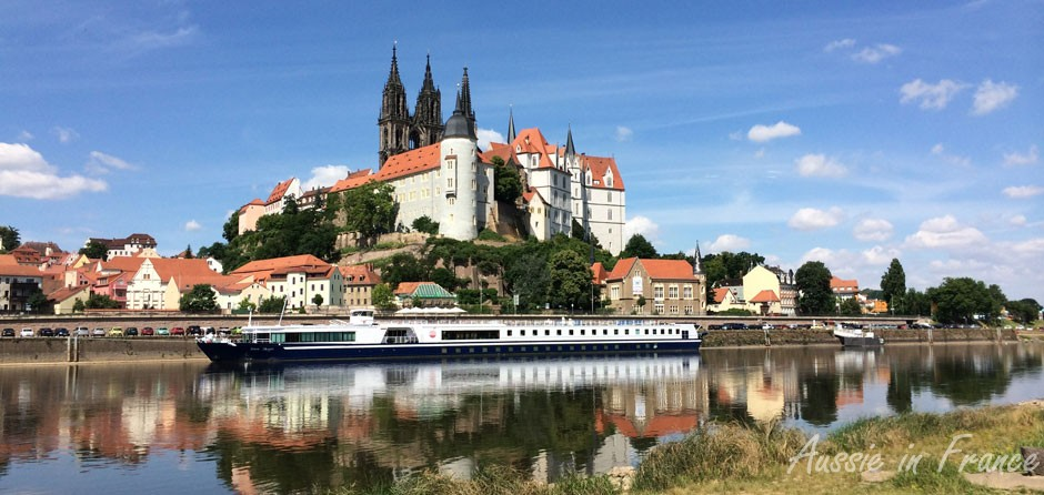 Meissen from the bike path - the best way to discover a town!