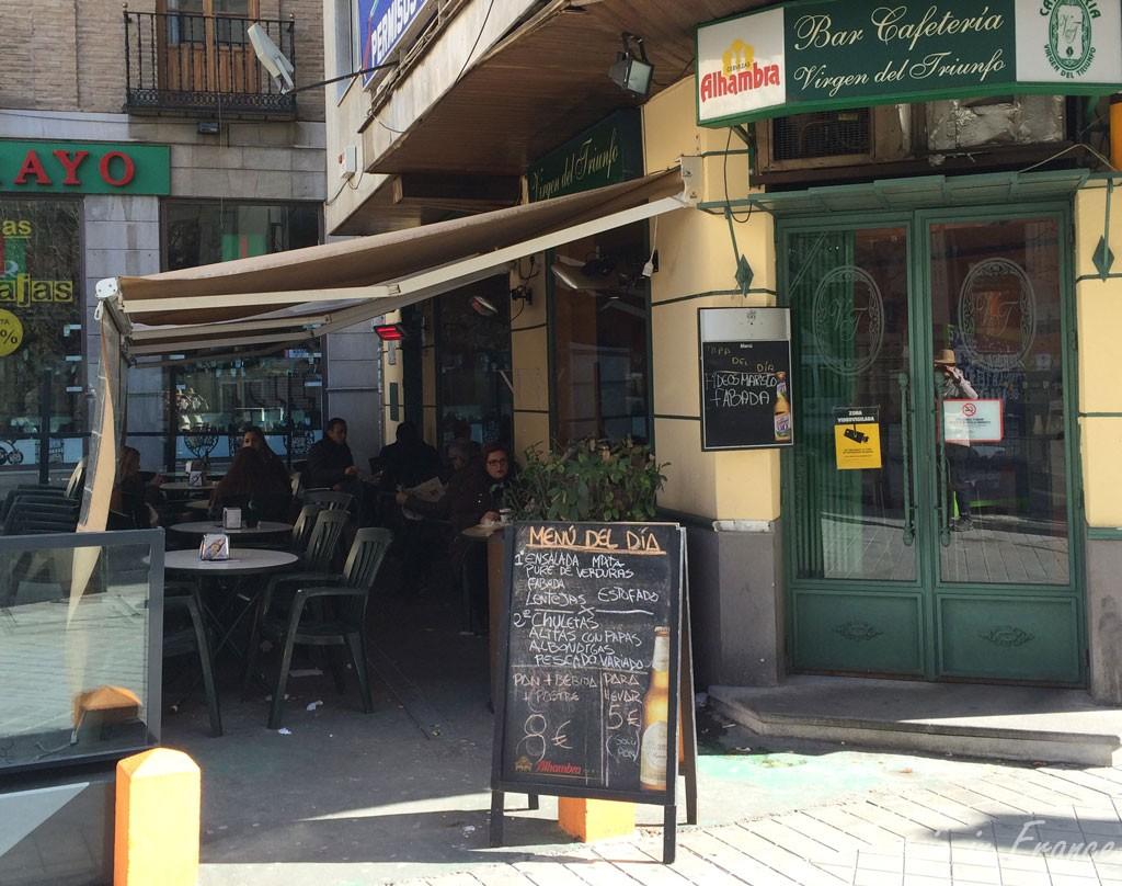 Menu del dia for 8 euro!