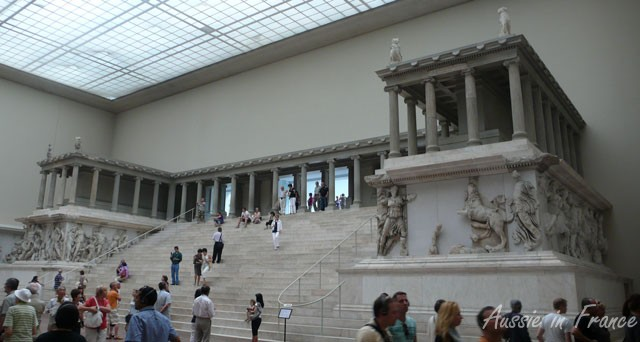 Inside the stunning Pergamon Museum