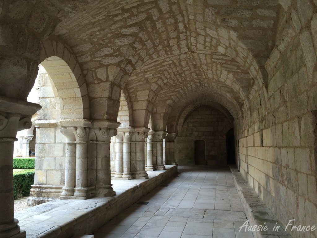 The cloisters at Neuil