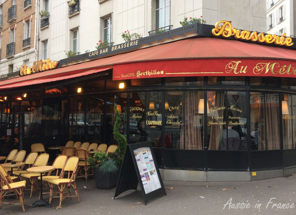 The brasserie where there are no croissants left