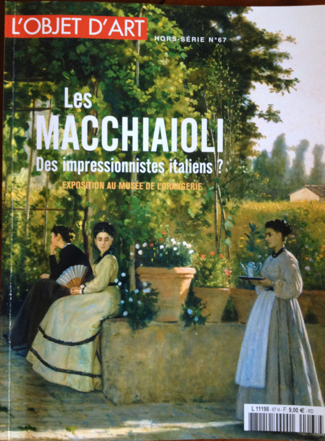 Les Macchiaioli published by L'Objet dArt, excellent value at 9 euro