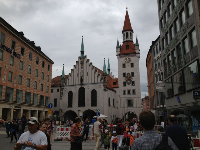 Old Townhall in Munich