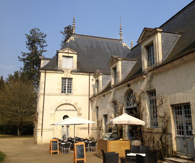 Orangery restaurant at Azay-le-Rideau